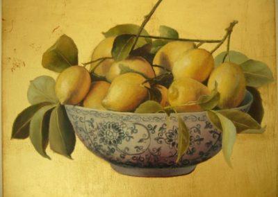 Citrons du Midi in foglia d'oro