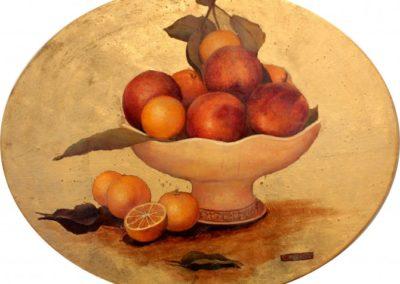 Coppa con arance