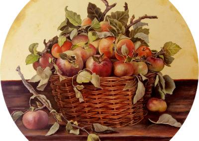 Cesta di mele